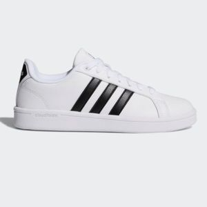 Adidas Cloudfoam Advantage 3 stripe sneakers